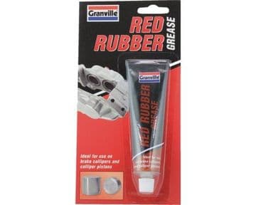 0847 70g Tube Red Rubber Grease