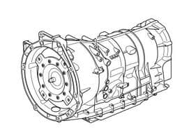 Automatic Transmission ZF 8 Speed