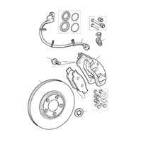 Front Brakes to VIN M45254