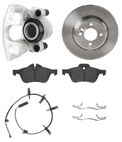 Front Discs & Pads For R60 & R61 294mm Brakes (Not S)