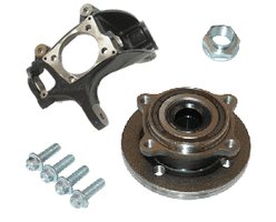 Front Hub Carrier, Bearing & Ball Joint