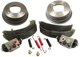 Series III 88 Rear Brakes from July 1980