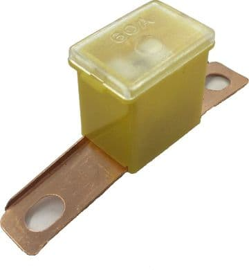 STC1758 YQF10001L PF734 PACIFIC FUSE SLOW BLOW MALE SCREW IN 60 AMP SINGLE