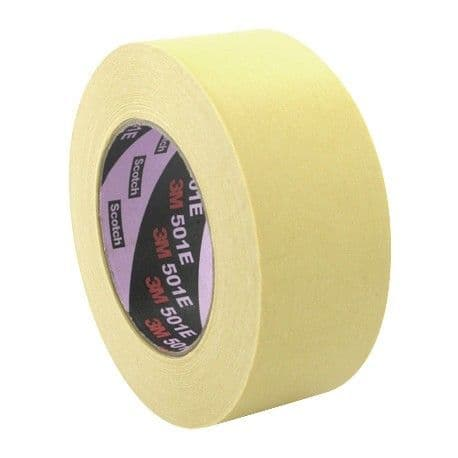 3M 501E (2610) 160°C Speciality High Temperature Masking Tape