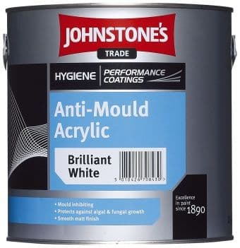 Johnstones Trade Hygiene Anti-Mould Acrylic Custom Mixed Colours 5L