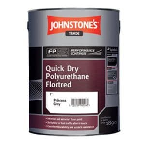 Johnstones Trade Quick Dry Polyurethane Flortred Custom Mixed Colours 5L