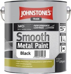 Johnstones Trade Smooth Metal Paint Standard Colours 2.5L