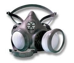 Moldex 4004 Reusable Half Mask Body for use with particulate filters (not included)
