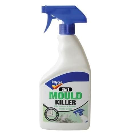 Polycell 3 in 1 Mould Killer Spray 500ml