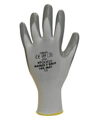 Polyco Matrix F Grip Gloves (Pack of 12)