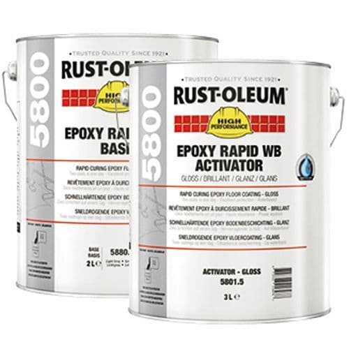 Rustoleum 5800 Epoxy Rapid WB Floor Paint 5L