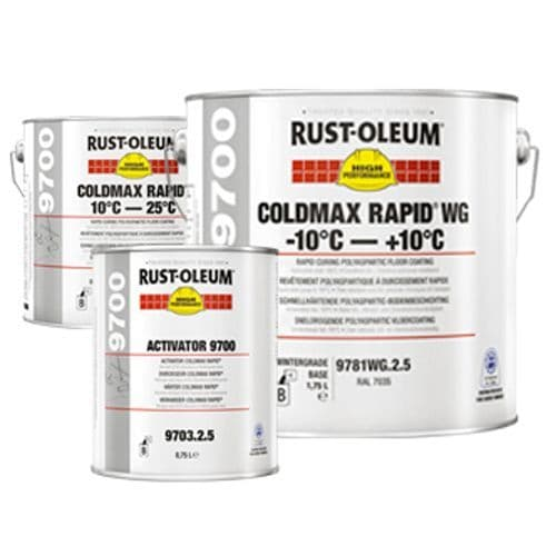 Rustoleum 9700 Coldmax Rapid Winter Grade Floor Paint 2.5L