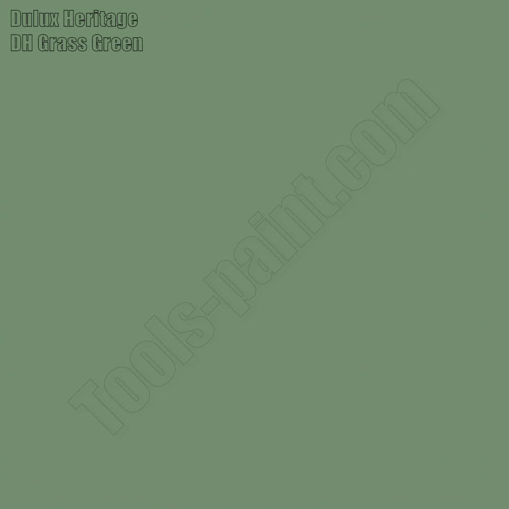 Dulux Heritage DH Grass Green