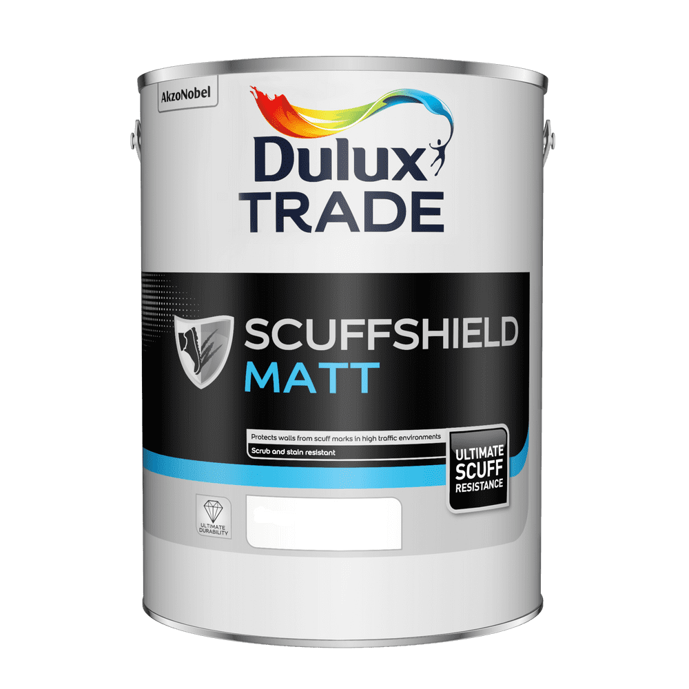 Dulux Trade Scuffshield Custom Mixed Colours 5L