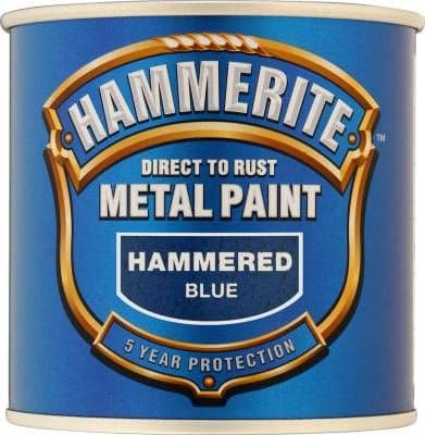 Hammerite Direct To Rust Metal Paint Hammered Finish 2.5L
