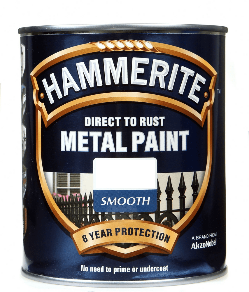 Hammerite Direct To Rust Metal Paint Smooth Finish Custom Mixed Colours 750ml
