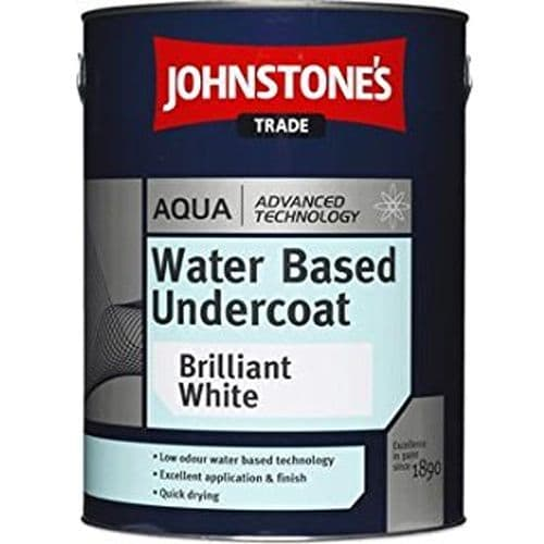 Johnstones Trade Aqua Water Based Undercoat Brilliant White