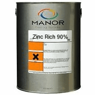 Manor Zinc Rich Primer (Galvafroid) 2.5L