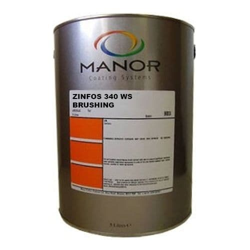 Manor Zinfos 340 WS Custom Mixed Colours , 50% sheen 5L