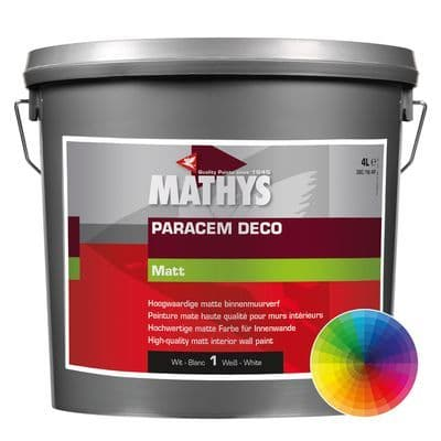 Mathys Paracem Deco Matt Custom Mixed Colours