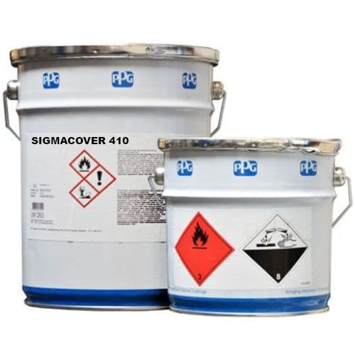PPG Sigma SigmaCover 410 (Amercoat 410) standard colours 20L