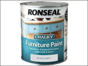 Ronseal Chalky Furniture Paint Dove Grey 750ml