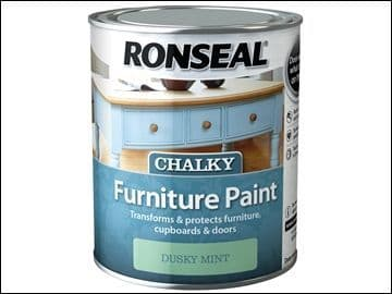Ronseal Chalky Furniture Paint Dusky Mint 750ml