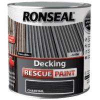Ronseal Decking Rescue Paint Charcoal 2.5L DISCONTINUED