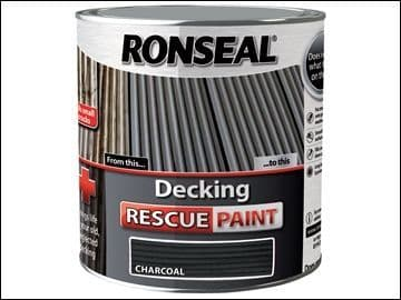 Ronseal Decking Rescue Paint Charcoal 5L DISCONTINUED NO STOCK