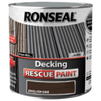 Ronseal Decking Rescue Paint English Oak 2.5L DISCONTINUED