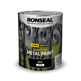 Ronseal Direct to Metal Satin Paint 2.5L