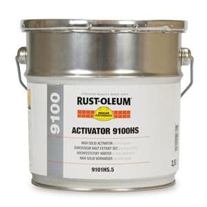 Rustoleum 9100 High Solids Epoxy 9101HS Custom Mixed Colours 5L