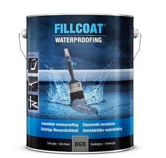 Rustoleum Fillcoat Waterproofing Dark Grey