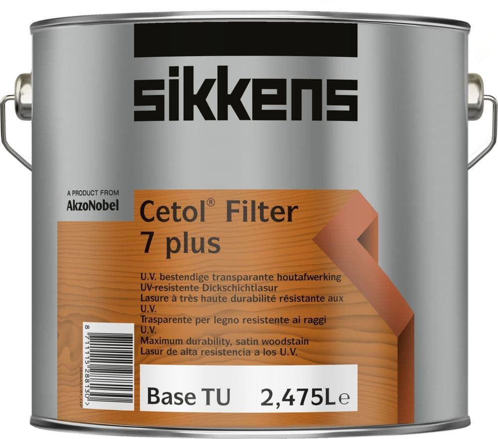 Sikkens Cetol Filter 7 Plus Custom Mixed Colours