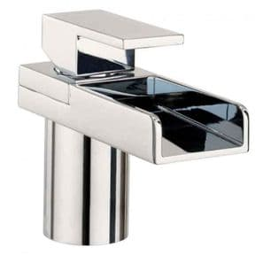 Crosswater Water Square Lever  Basin Monobloc No Pop-up Waste WS110DNC