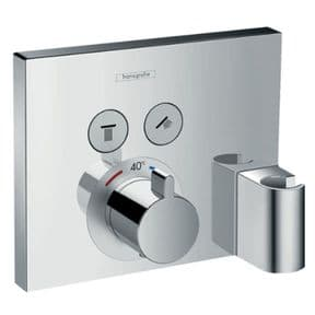 Hansgrohe Select Thermostatic Mixer Concealed Installation For 2 Outlets With Handset Holder 1576500