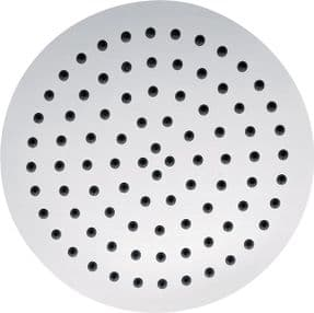 Pura Slimline Stainless Steel Round 250mm Shower Head KI075A