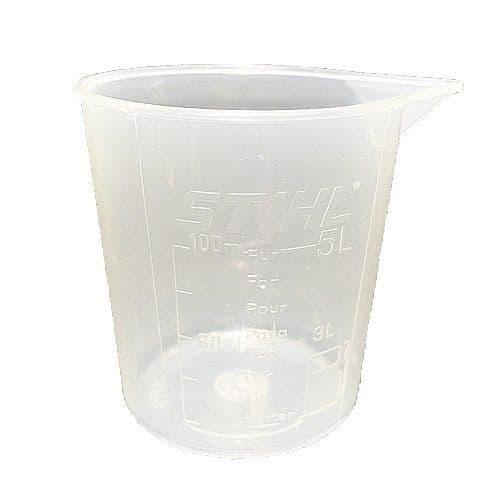 Stihl Measuring jug for mixing fuel -  5 litre measuring jug