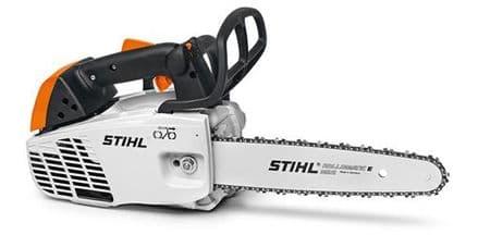 Stihl MS194T Petrol Arborist Top Handle Chainsaw