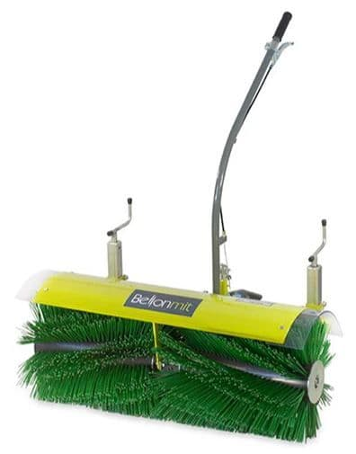Tracmaster Power Brush with Optional Collector Attachment