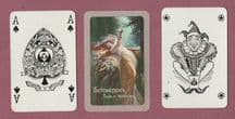 Antique Advertising playing cards. Schweppes. Circa 1920-30's,