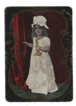 Antique Collectible playing cards Goodnight by Congress
