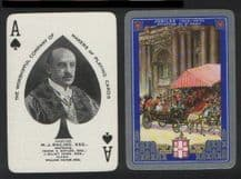 Antique Collectible playing cards Worshipful  1935. Royal Jubilee.
