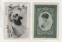 Antique Wide named playing cards. Rosalind, by Russell