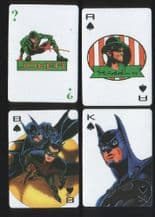 Batman Forever. 1994  Collectible  Non-standard  playing cards