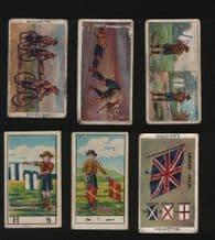 Boy Scouts collection RARE cigarette cards  #762