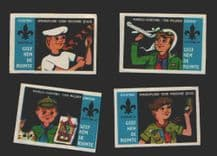 Boy Scouts unusual match box labels