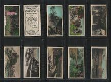 Cigarette cards British Countryside - poetry set 1926