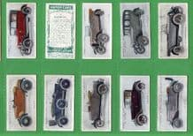 Cigarette cards Motor cars , Buick, Rolls-Royce, Humber,Ford