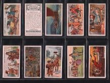 Cigarette cards Pirates & Highwaymen Intriguing set